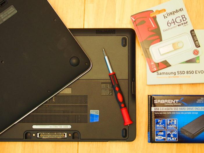 Hoe u de SSD in uw zakelijke Ultrabook kunt upgraden