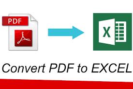 PDF naar Excel: hoe te converteren naar PDF naar XLS of XLSX op computer, telefoon