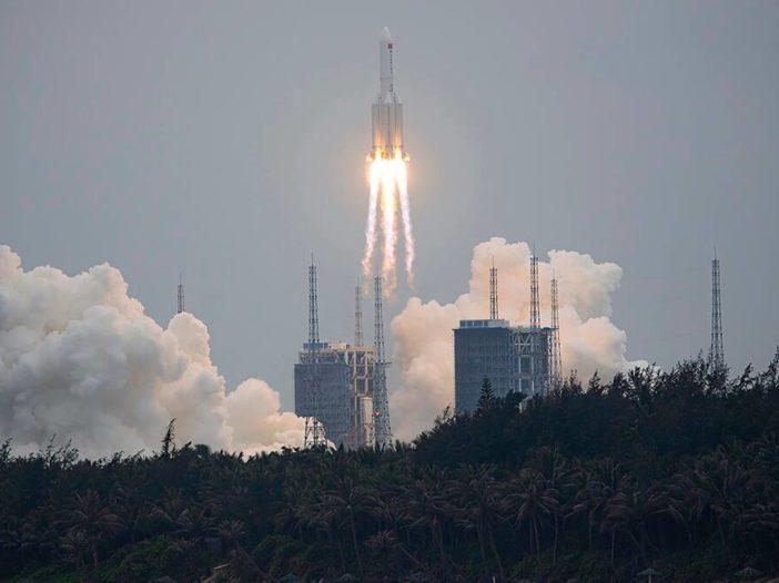 China lanceert belangrijke module van ruimtestation gepland voor 2022